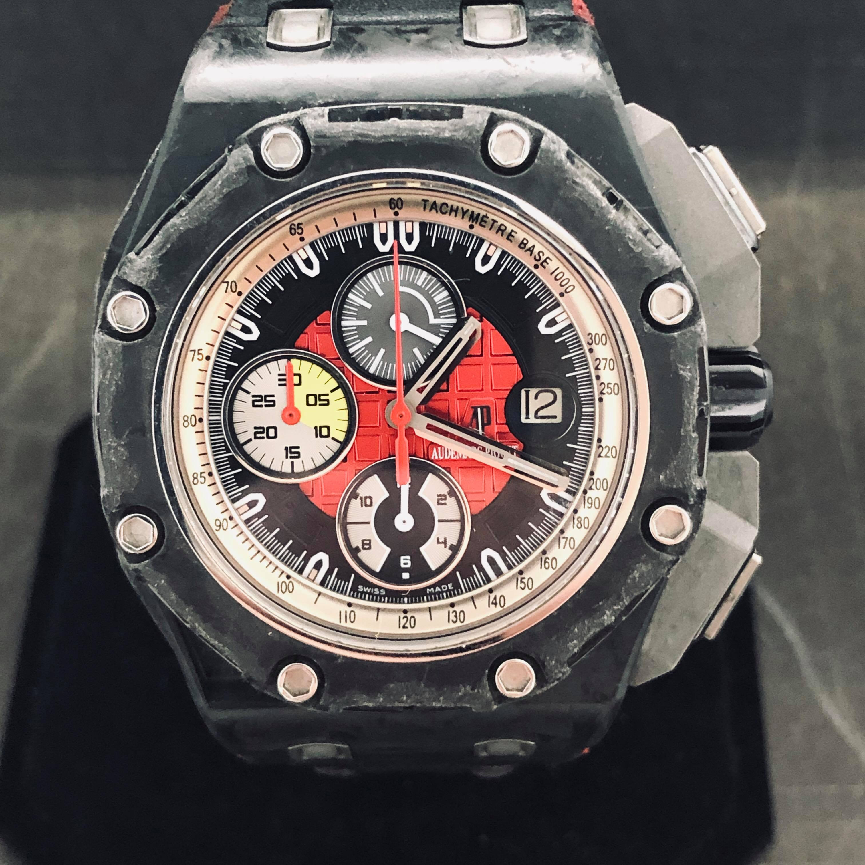 Audemars Piguet Royal Oak Offshore Grand Prix Carbon Limited Full