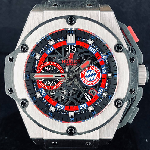 Hublot Unico King Power, Titanium, 48MM, FC Bayern Munich, 200PCS