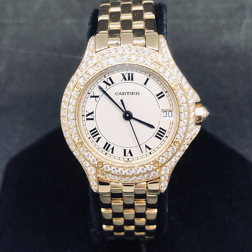 Cartier Cougar Diamond bezel Mint