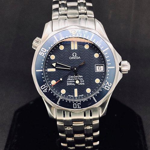 Omega Seamaster Diver 300M, Steel, Bond, 36MM
