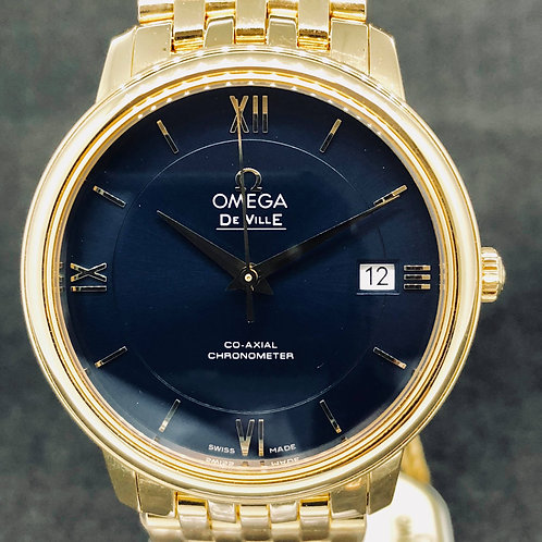 Omega De Ville Prestige Co-Axial 36,80mm yellow gold NEW