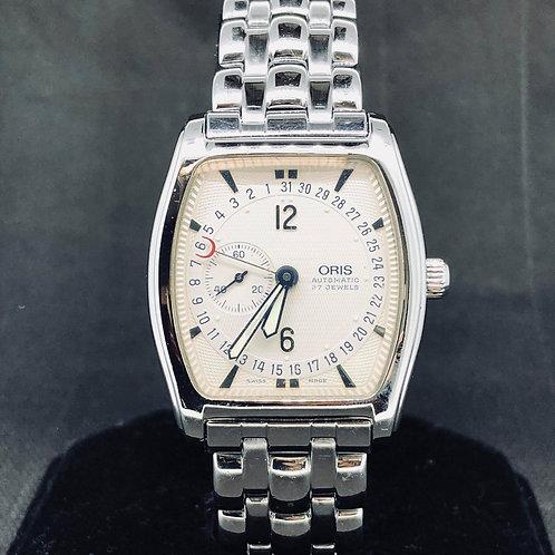 Oris Tonneau Regulator Watch, Steel
