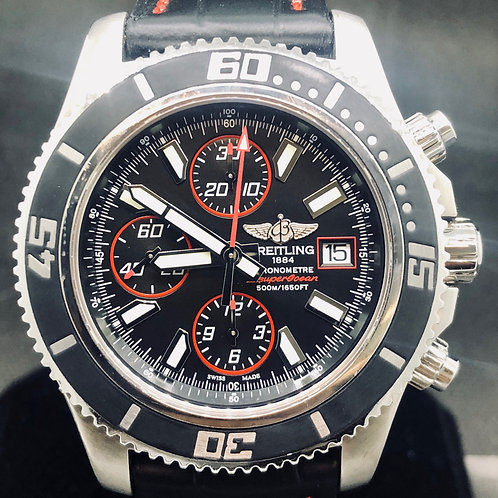 Breitling Superocean Chronograph II, 44MM, RED Edition, Steel