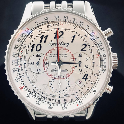 Breitling Montbrillant 01, Chronograph, Steel, OpenCase, 40MM,  limited edition