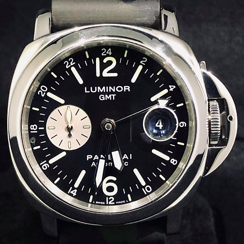 Panerai Luminor GMT Automatic Steel, 44MM, Army Strap