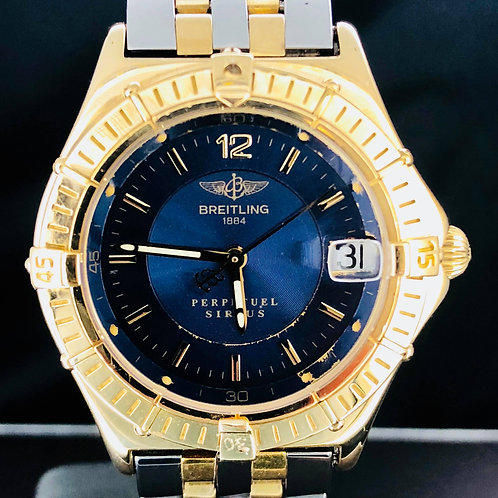 Breitling Perpetual Sirius Yellow Gold/Steel