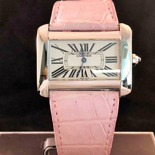 Cartier Tank Divan XL Steel
