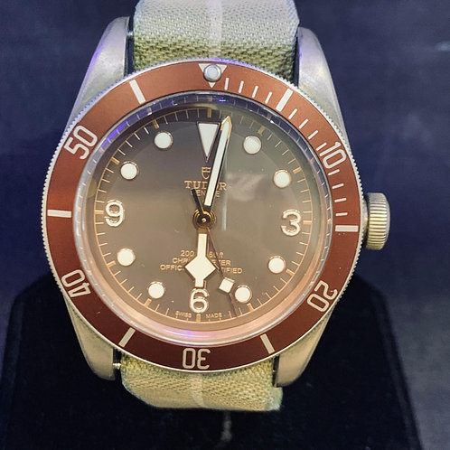 Tudor Heritage Black Bay 79250BM Bronze Mint 2018