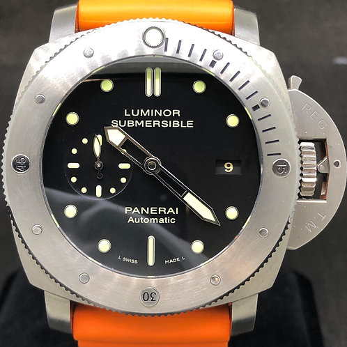 Panerai Luminor Submersible 1950 3 Days Automatic Full Set Mint