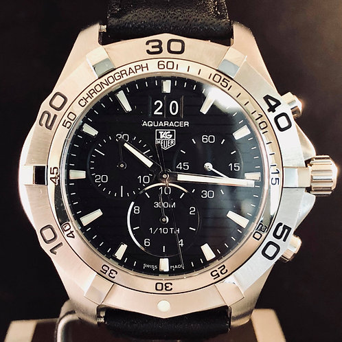 TAG Heuer Aquaracer 300M Grande Date, Steel, 43MM