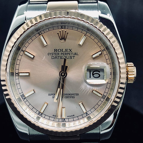 Rolex Datejust STEEL/ROSE GOLD  MINT 36 MM
