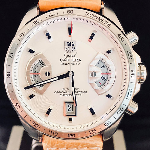 TAG Heuer Grand Carrera Calibre 17, Automatic, Steel, 43MM