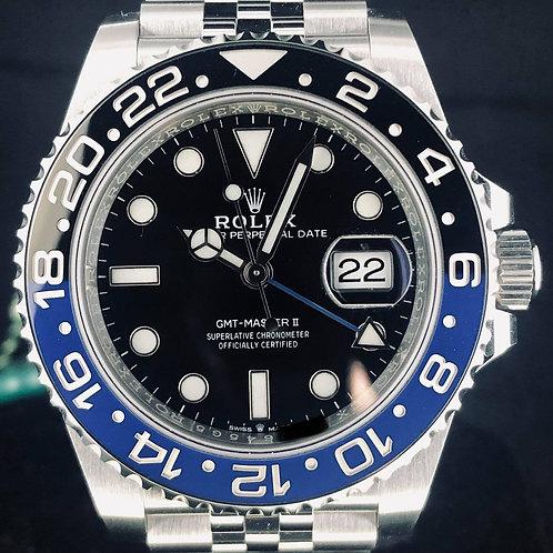 "Rolex GMT-Master II ""Batman"" Jubilee, Steel, B&P2019 - Unworn"