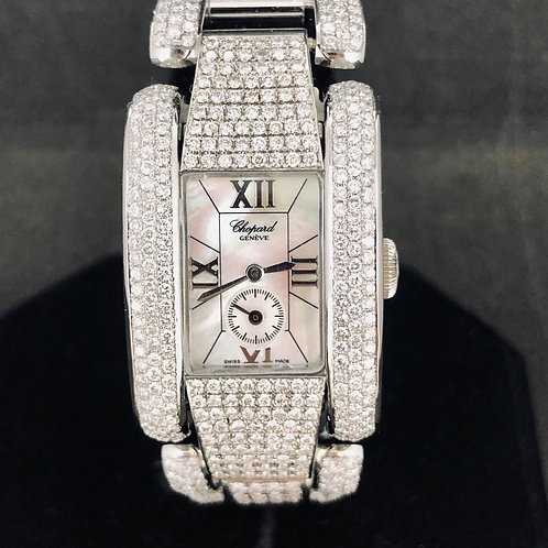 Chopard La Strada Steel, Diamonds, MOP Dial, Quartz - MINT