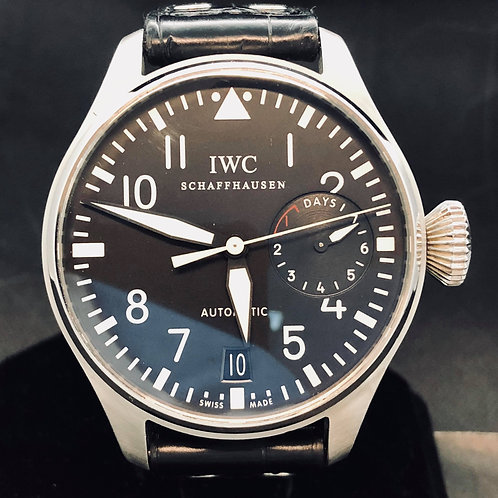 IWC Big Pilot 7 Days Power Reserve - Date - (FULLSET B&P2016
