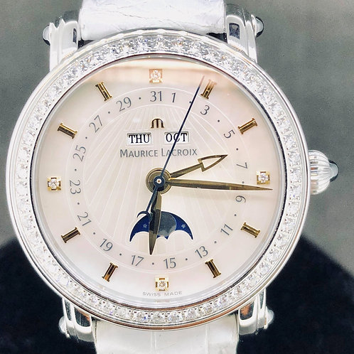 Maurice Lacroix Masterpiece Moonphase MoP & Diamonds