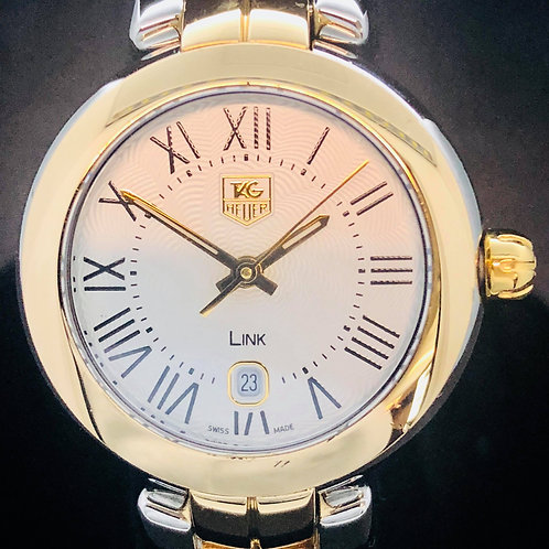 Tag Heuer Link Lady Gold/Steel 28Mmm