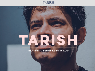 Tarish Patel, UK Actor