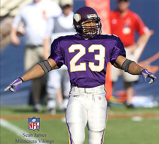 Sean James, NFL Pro Athlete