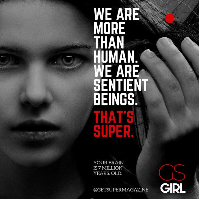 Get Super Girl Ad Campaign Concept