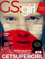 Get Super Magazine Red