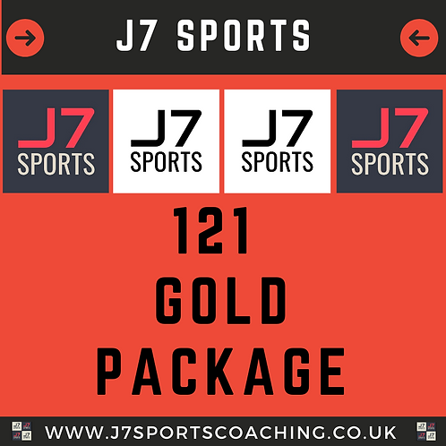 1-2-1 Gold Package