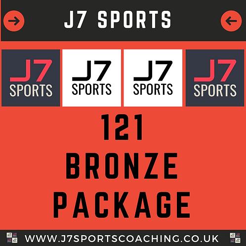 1-2-1 Bronze Package