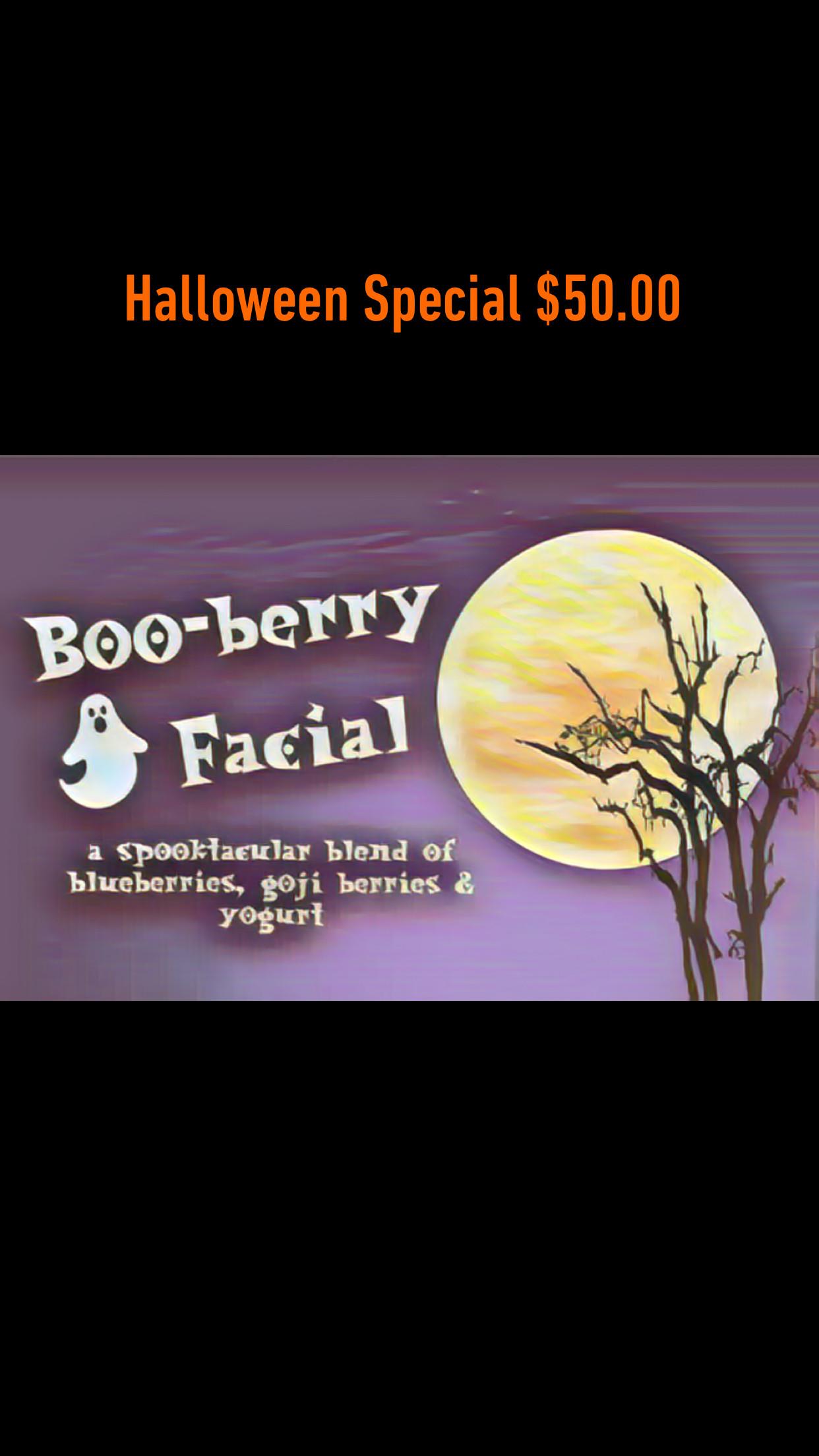 Boo-Berry Facial