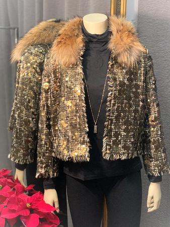 Gold Sparkle Jacket