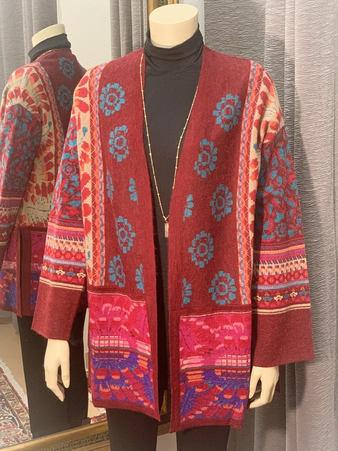 Faboulous Multi Colored Alpaca Sweater