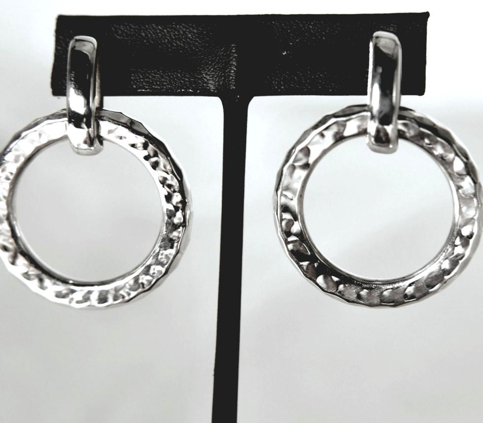 Joy of Silver Hoop Earrings