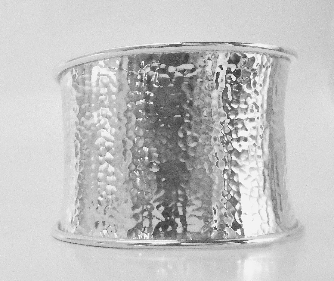 Joy of Silver Large Sterling Silver Cuff