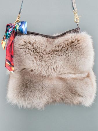 Specialty Fur Shoulder Bags