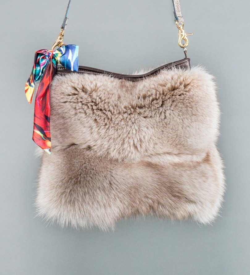 Specialty Fur Shoulder Bags