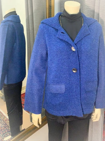Very Blue Alpaca Sweater
