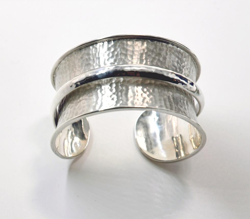 Joy of Silver Cuff Bracelet