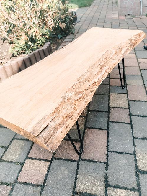Stolik kawowy drewniany