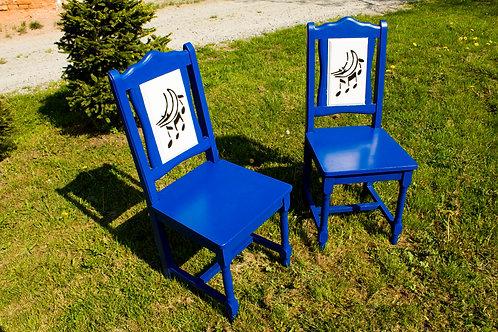 Krzesła niebieskie - życie królewskie