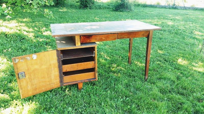 biurko prl