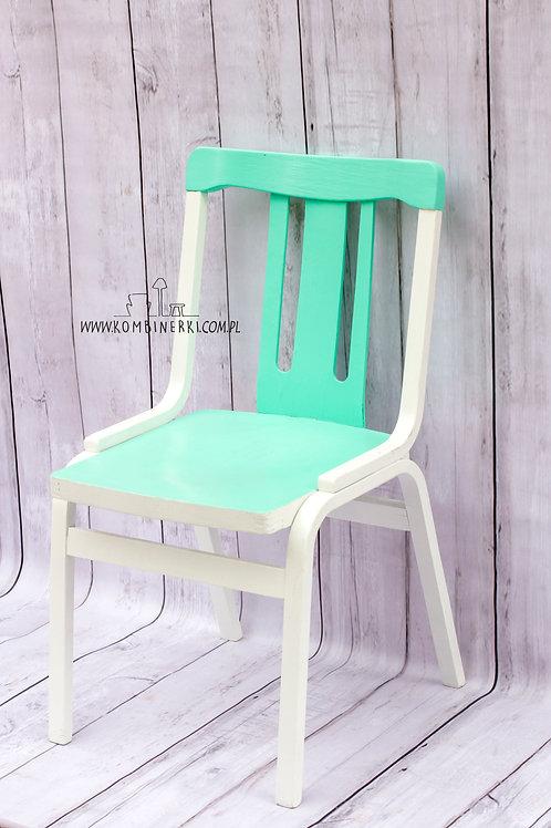 Krzesło zielone z Karkonoszy zniesione