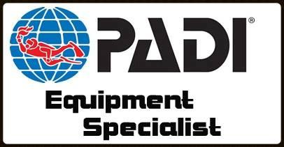 PADI Equipment Specialty with DiveMania Scuba