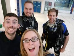 DiveMania selfies