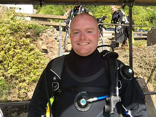 Kieran Wood - PADI Assistant Instructor with DiveMania Scuba