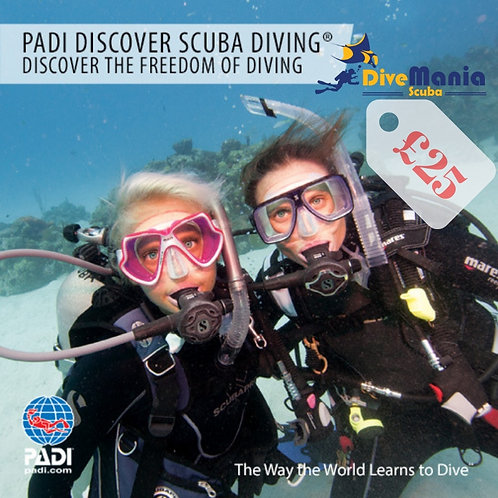 PADI Discover Scuba Diving Experience