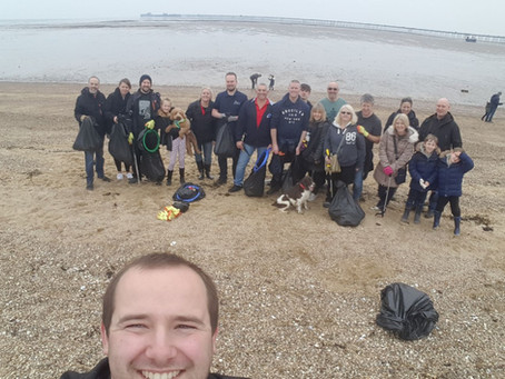 Project AWARE - Beach Clean Up