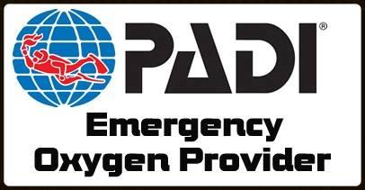 PADI Emergency O2 Provider with DiveMania Scuba