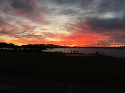 Sunset in Plymouth