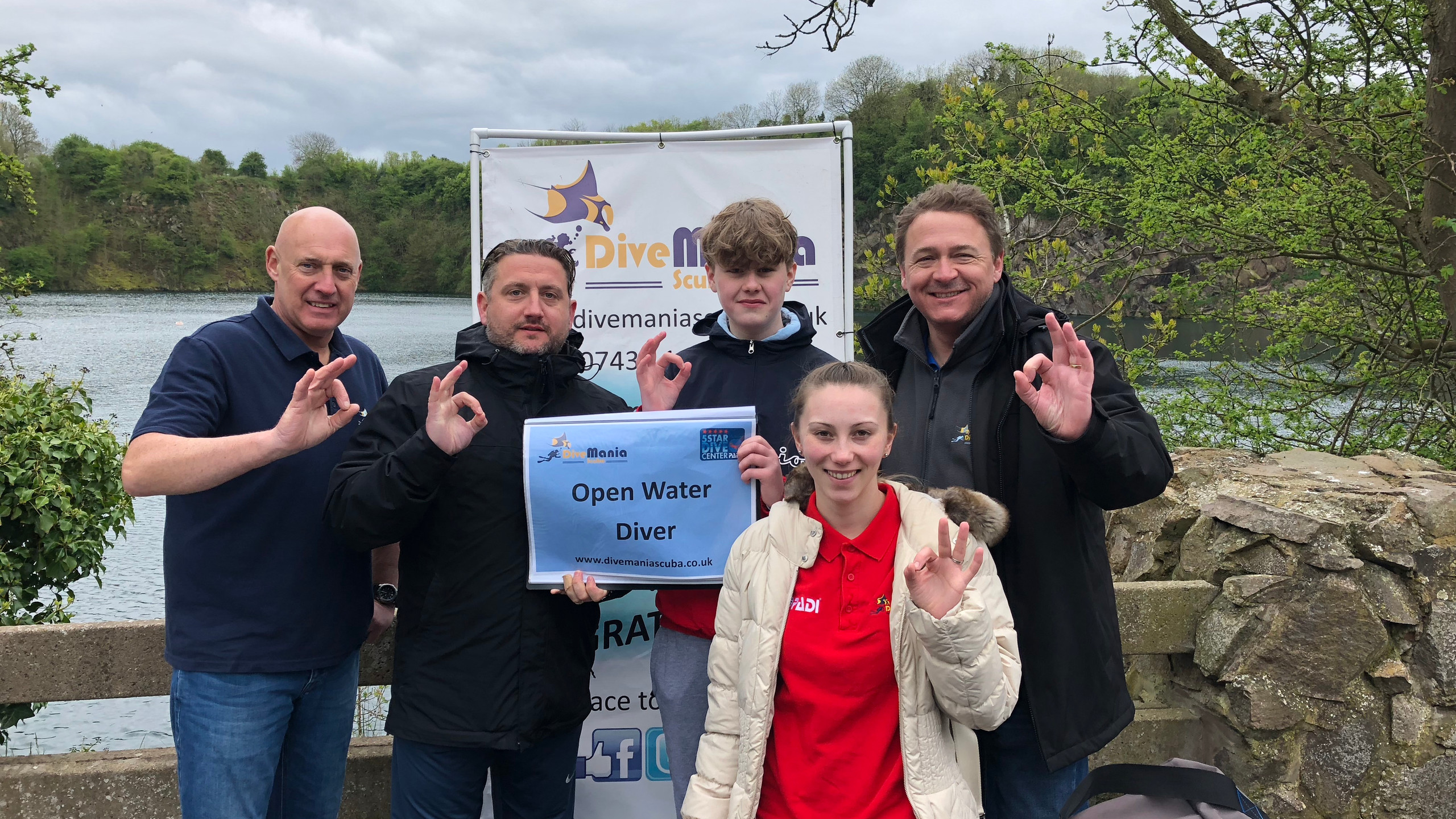 New Open Water and Drysuit Divers