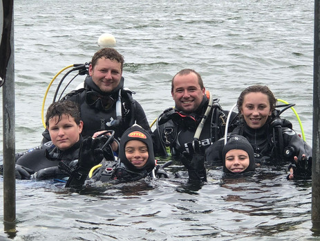 Junior PADI Open Water Divers