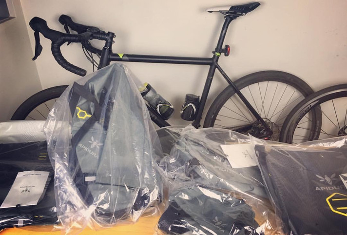 Exciting new piece of gear! Apidura bags